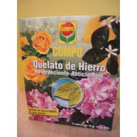 QUELATO DE HIERRO - 5 sobres x 10gr