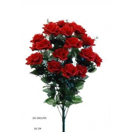 RAMO ROSA ROJA 60 CM (2061) **ARTIFICIAL*