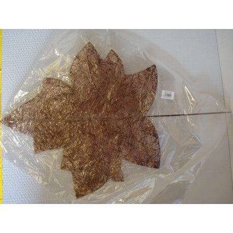 HOJA SISAL P 17 X 17 X 2 UND CHOCOLATE