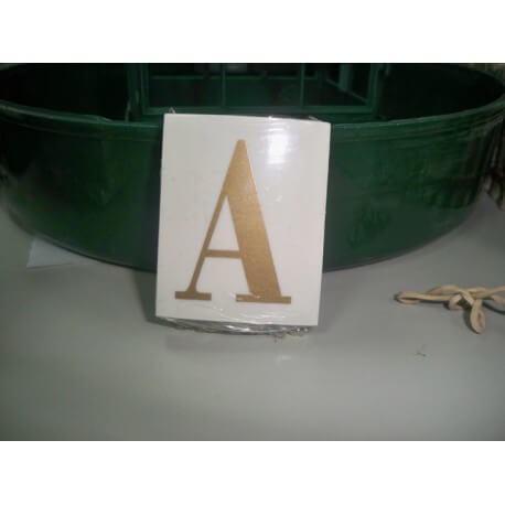 LETRA ( A ) X 25 UND