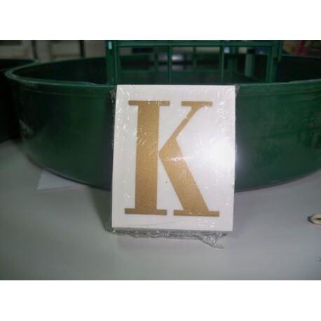 LETRA ( K ) X 25 UND