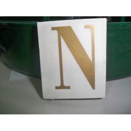 LETRA ( N ) X 25 UND