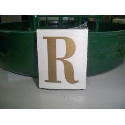 LETRA ( R ) X 25 UND