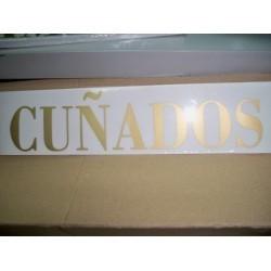 CUÑADOS X 25 UND