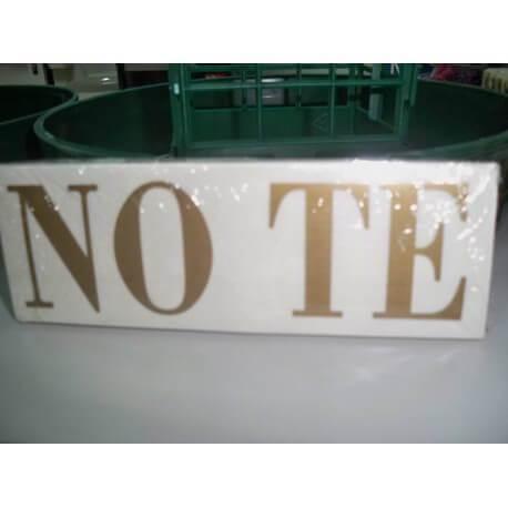 NO TE X 25 UND
